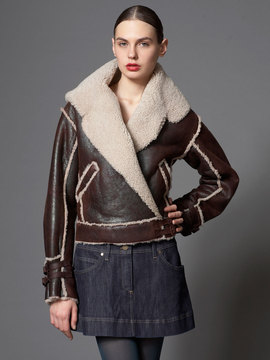 Alexander McQueen's genius interpretation of the shearling bomber.