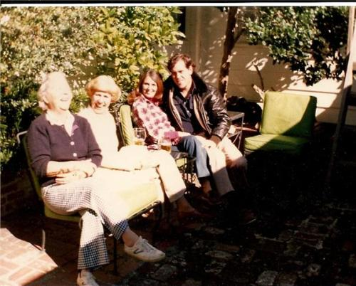 4 of my favorite fashion icons-- Granny, Granny, Mom and Dad in Ponte Vedra.