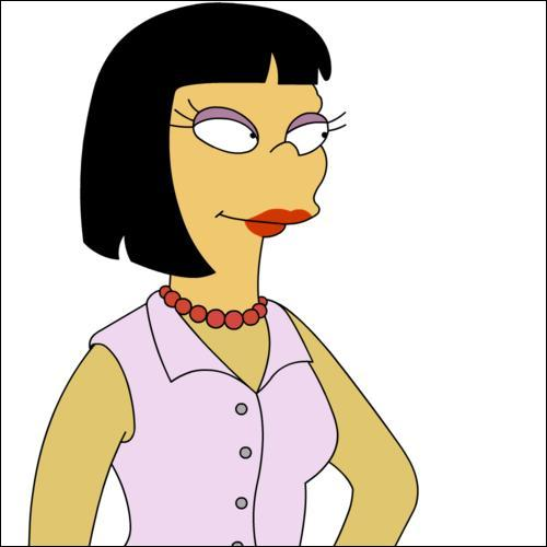 Cookie Kwan, real estate agent extraordinaire on The Simpsons.
