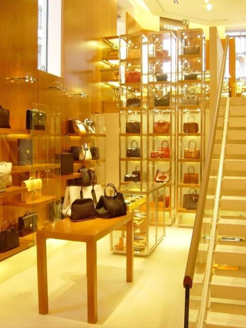 Hermes Paris store on Rue Faubourg & St Honore.