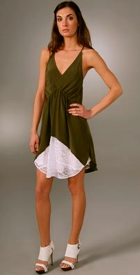 Pencey slip dress, $358.