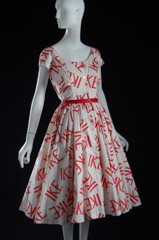 Vintage IKE dress.