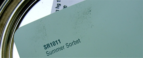 Summer Sorbet paint color Carey Wodehouse furniture