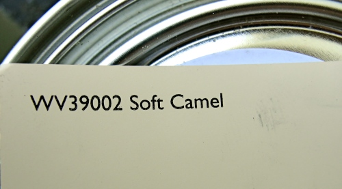Soft Camel paint color Carey Wodehouse furniture