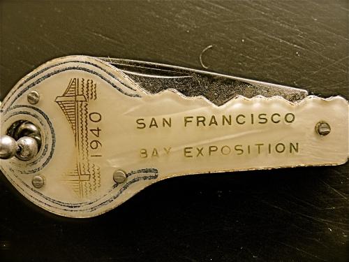 1940 Exposition antique
