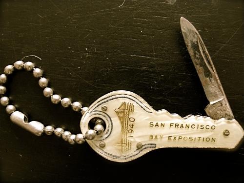 antique key pocket knife San Francisco