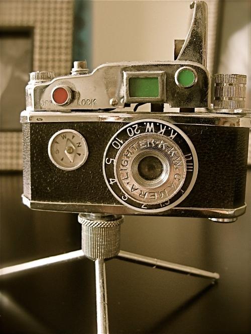 antique cigarette lighter camera