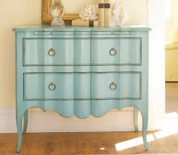 blue furniture