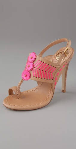 Tory Burch Tanya toe ring sandal