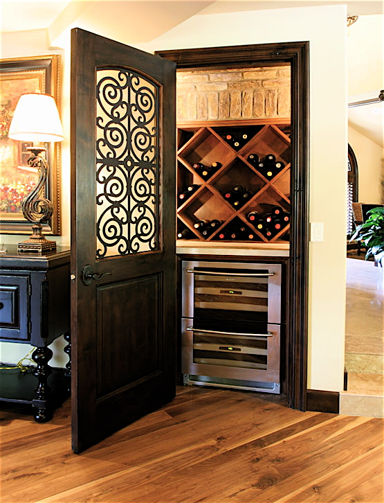 Wine cellar weekly wine closets cont corks and caftans for Turn closet into wine cellar