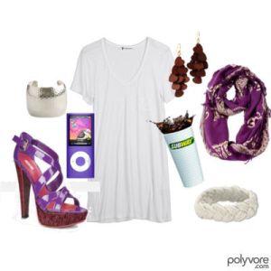 purple miu miu polyvore