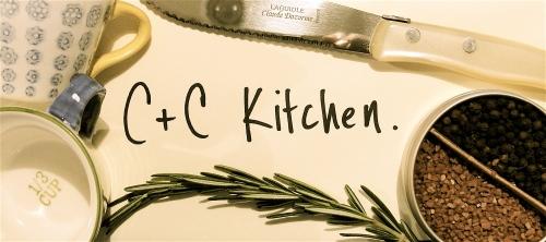 C+C Kitchen Header
