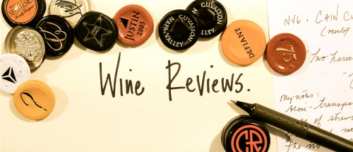Wine Reviews Header