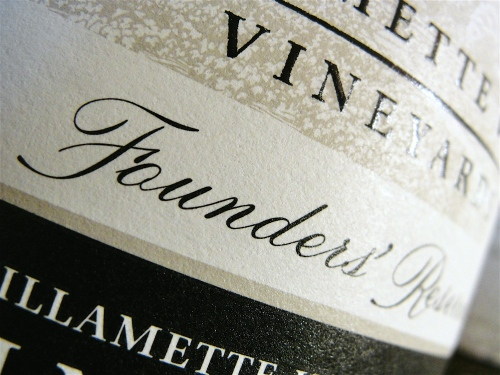 Willamette Valley Vineyards Founders Reserve