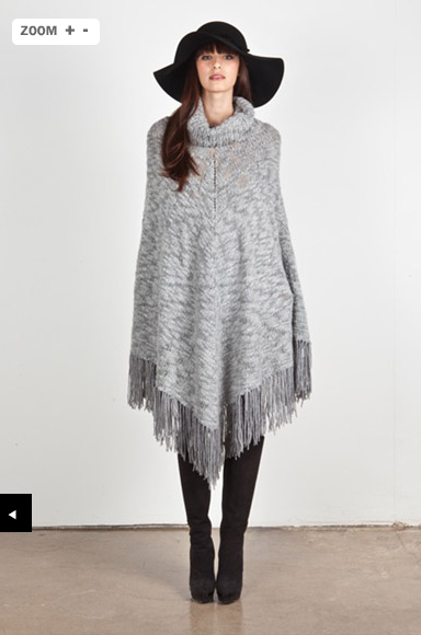 Theory poncho sweater