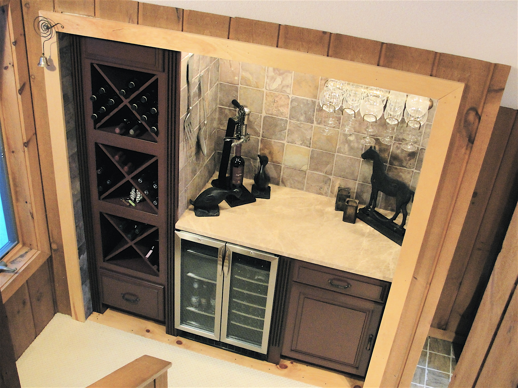 Custom Wine Closet Robert Burden Custom Tiling