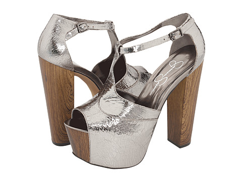91a95d4a53c ... Simpson Dany platforms in pewter.  -Carey